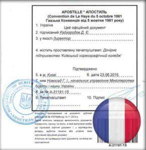 Юридический перевод с французского